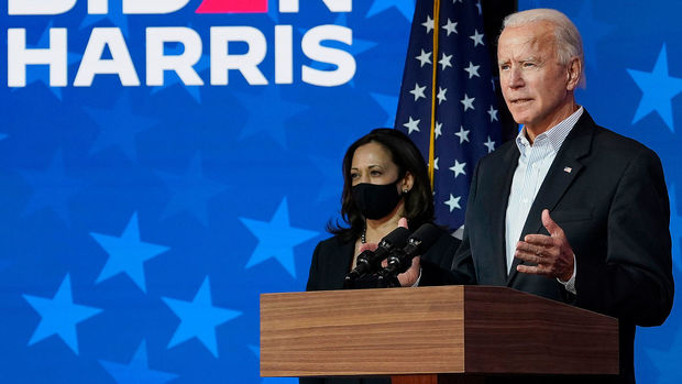 11/2020, Joe Biden, 46th President of the United States, and Vice President Kamala Harris