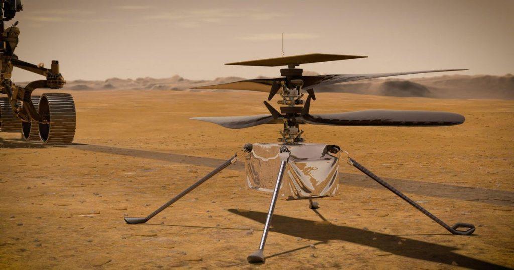 Creativity's first flight over Mars has been postponed again