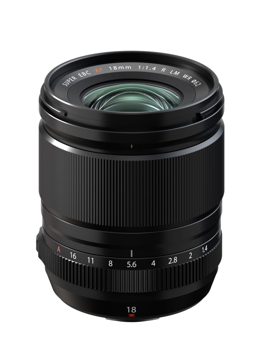 FUJINON XF18mmF1.4 R LM WR - Bright Wide Angle Lens for X Series Cameras