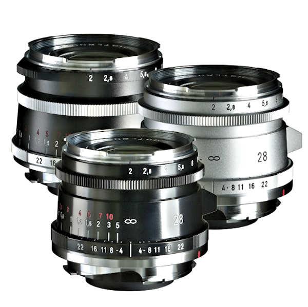 Voigtländer Ultron 2.0 / 28 mm ASPh VM in two versions