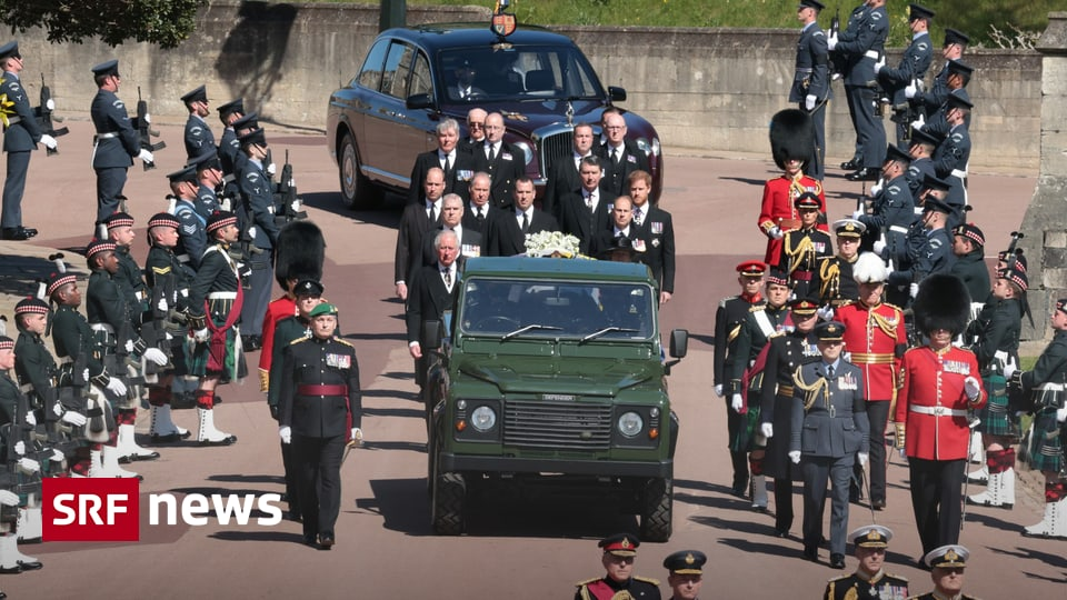 Funeral Ceremony at Windsor Castle - Farewell to Prince Philip: Funeral Ceremony Begins - News