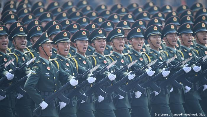 Chinese military parade to celebrate the 70th anniversary of the founding of the People's Republic of China
