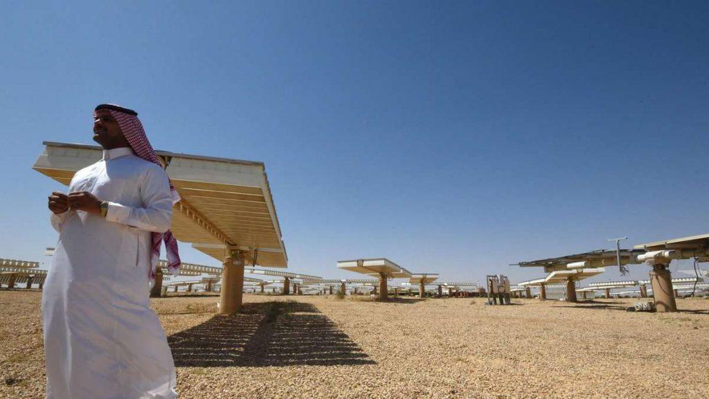 Saudis take advantage of the sun    Economie