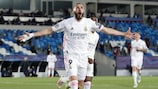Five great goals for Benzema