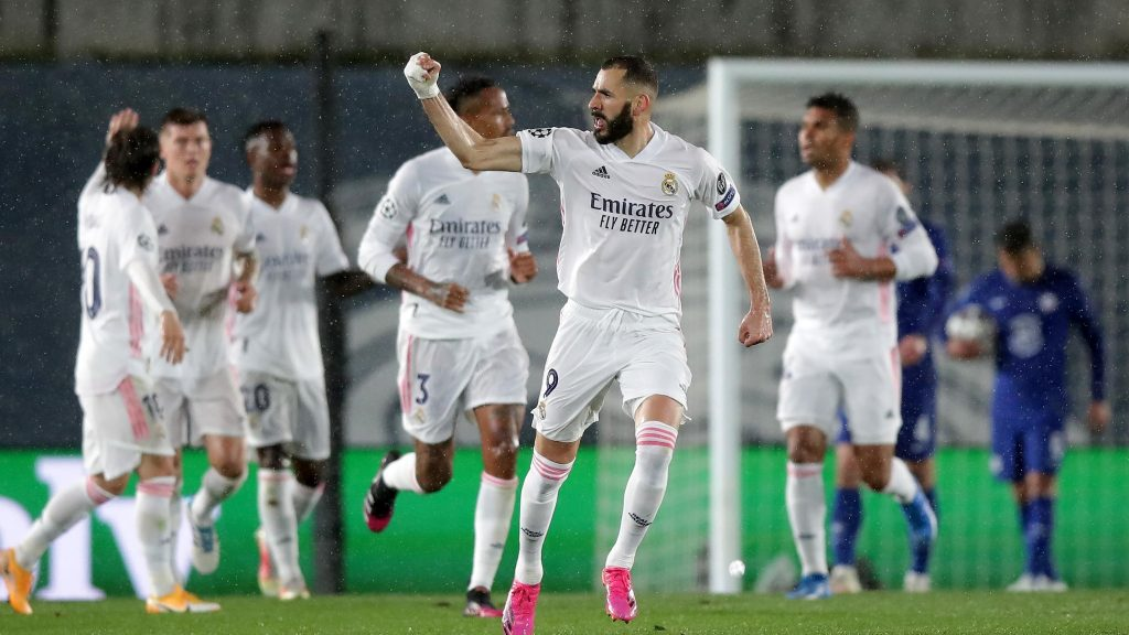 Scorers: Benzema moves to fourth place |  Champions League