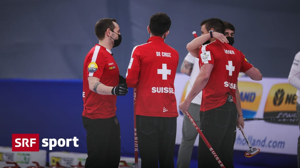7: 6 victory over the United States - Switzerland was in the World Cup semi-finals in curling - sport