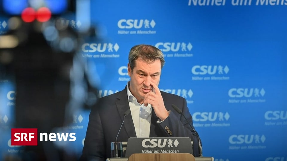 Chancellor's Question in Germany - CSU Söder President Abandons Chancellor's Candidacy - News