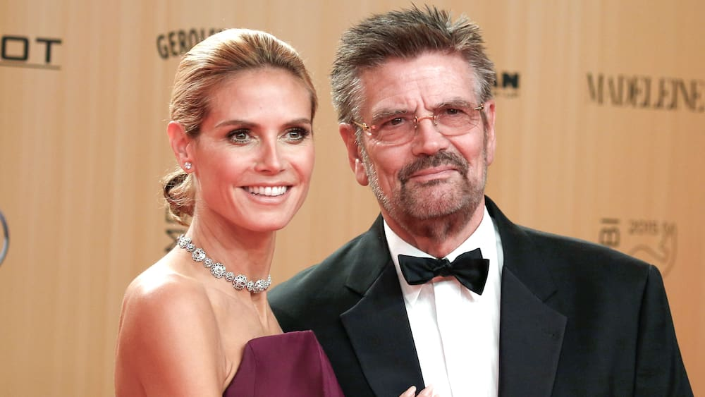 Heidi Klum must have won the GNTM competition from her father, Günther