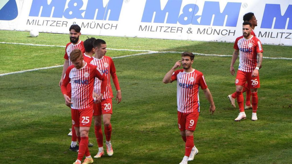 Kickers Offenbach in the live video: This is what Oceania does at Bayern Alzino