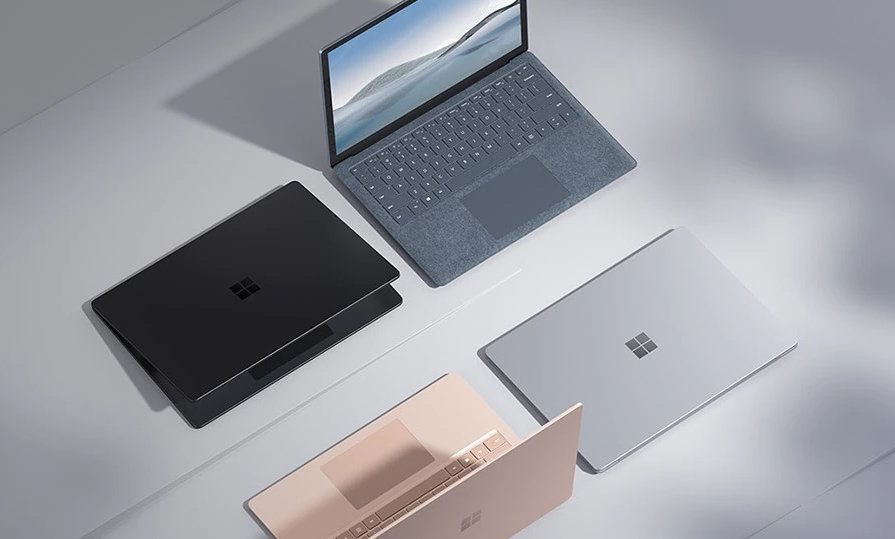 Surface Laptop 4 in all colors available
