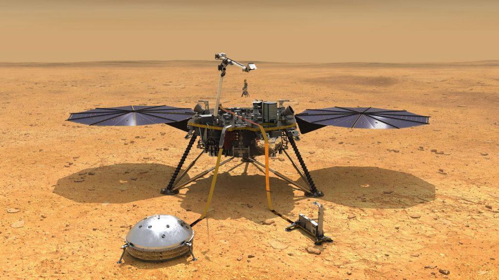 NASA's Mars probe is in hibernation