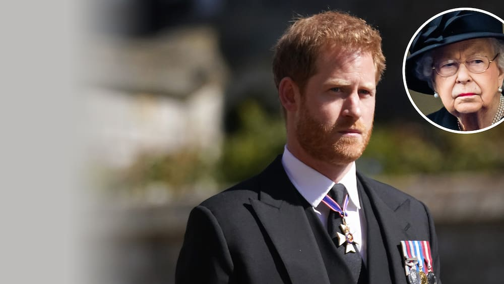 Prince Harry stays with the Queen and abandons Meghan
