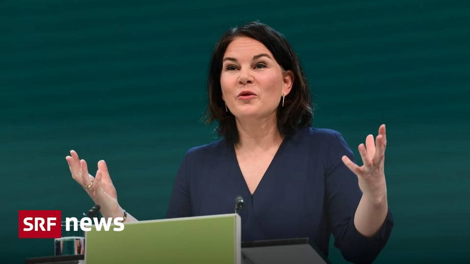 The Greens in Germany - Burbock runs for the Greens chancellery - news