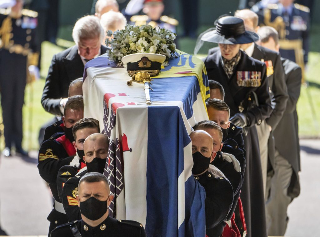 The most exciting moment at Prince Philip's funeral