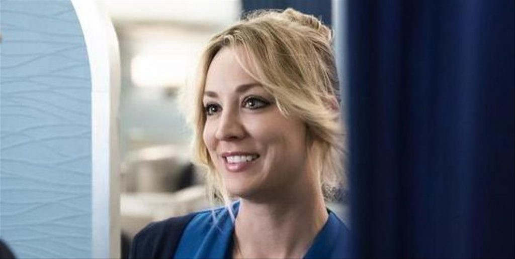 The star of the series Kaley Cuoco - the queen of Faux Bass