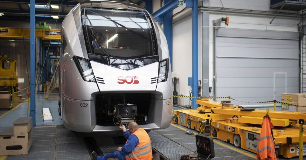 Stadler Rail argues with a German rail operator