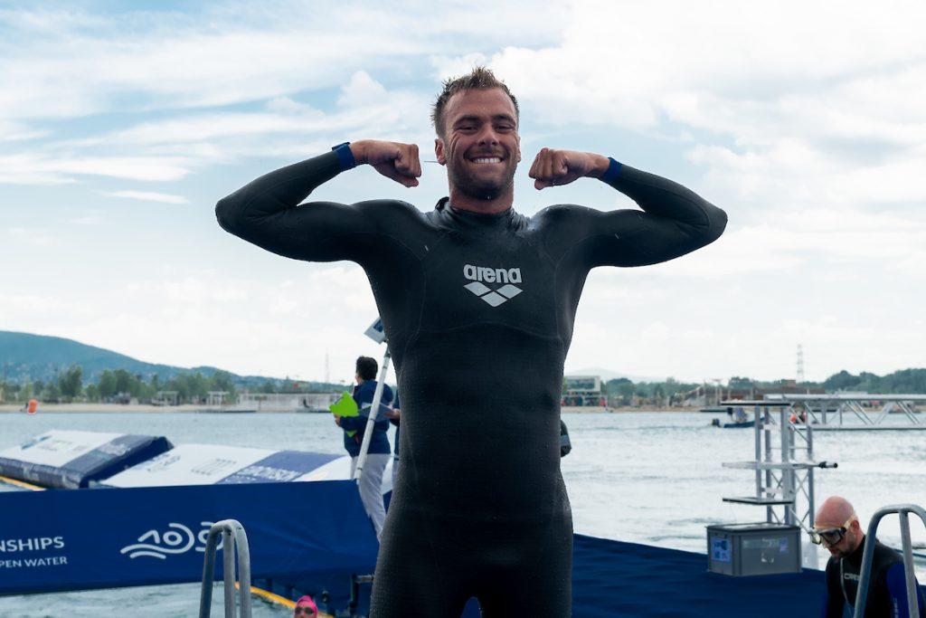 Paltrinieri's second European title, Wellbrock ranks third