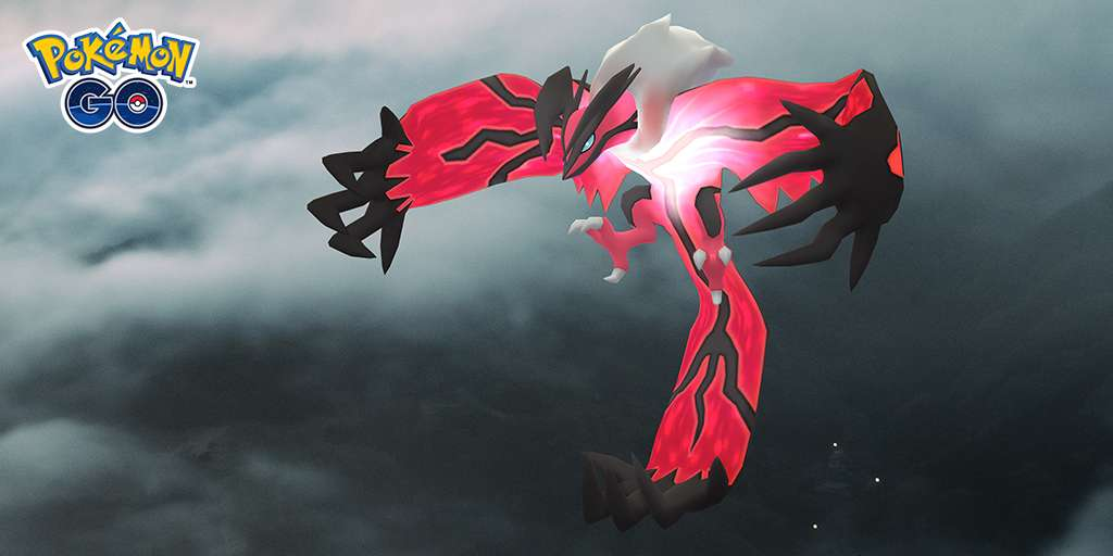 Yveltal can be found from next week