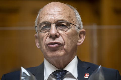 Finance Minister Ueli Maurer sees the criticism as outdated