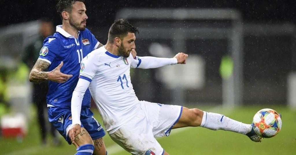 Pforzheimer Vincenzo Grifo on his way to the European Football Championship - sport