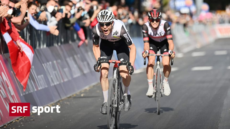Zurich's first professional victory - major coup in Jero: Mauro Schmid wins Stage 11 - sport
