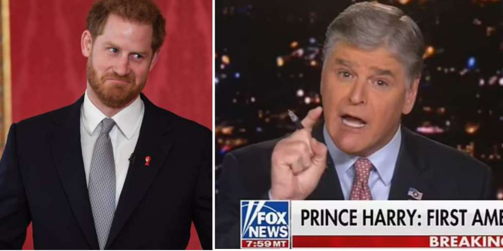 Prince Harry is severely mistreated by the American broadcaster