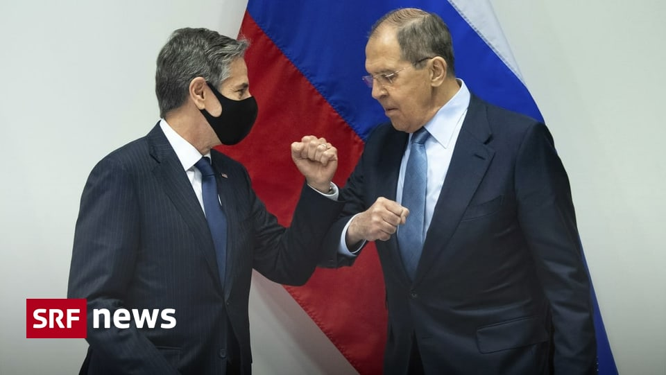 Foreign Ministers' Meeting - Blinken and Lavrov: Discussing differences in front of the camera - news