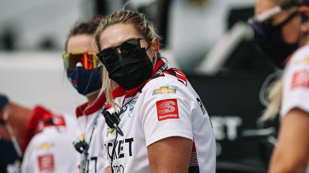 Simona de Silverstro - IndyCar