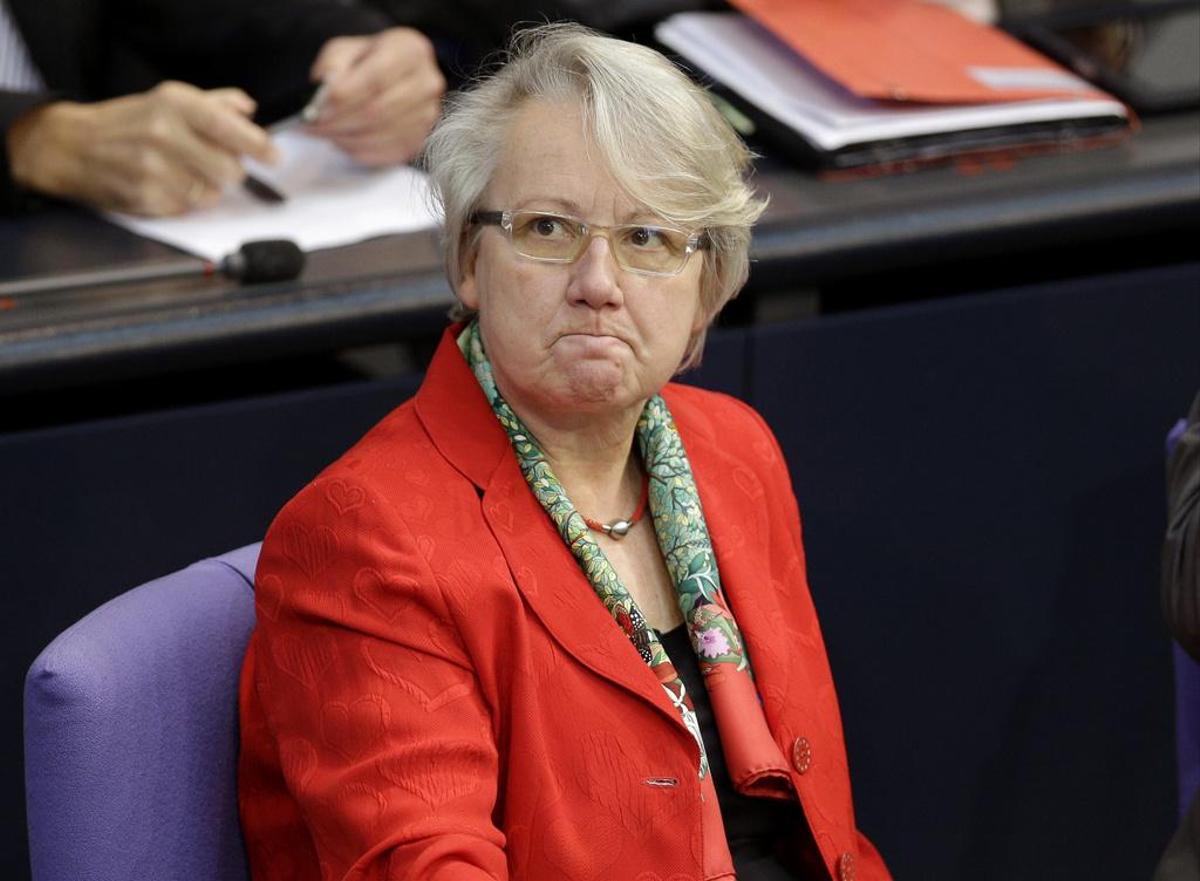 Doctorate Canceled: Annette Chavan (CDU), former Minister of Education.