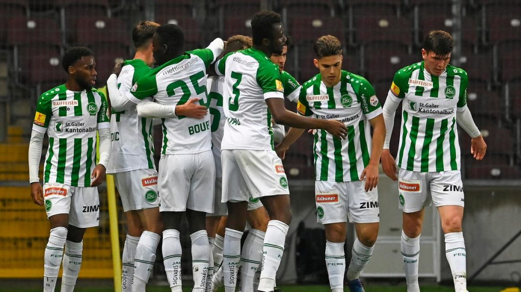 What a feeling: young FC St. Gallen's B-team defeated seasoned Cervitis 2-1 in Geneva