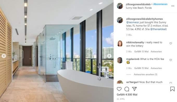 Lionel Messi's Miami apartment