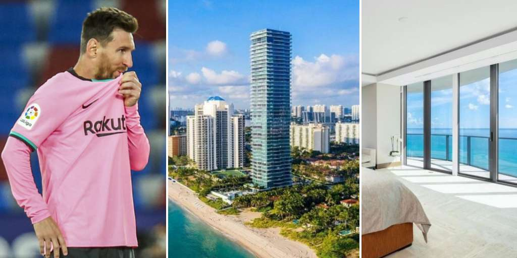 Lionel Messi buys a dream apartment in Miami