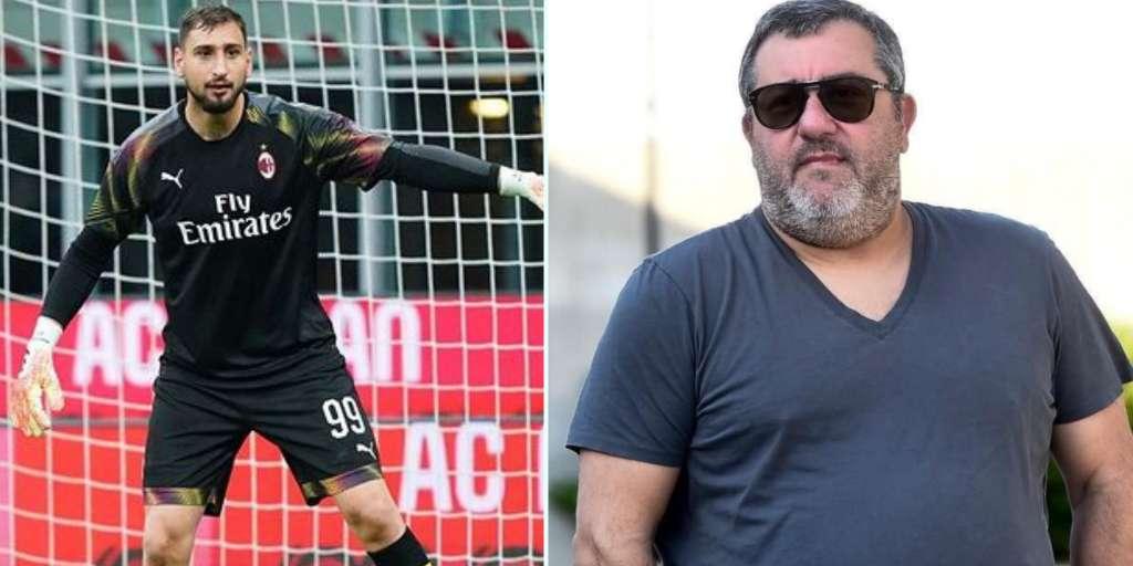 Milan down the star goalkeeper Donnarumma after high demands