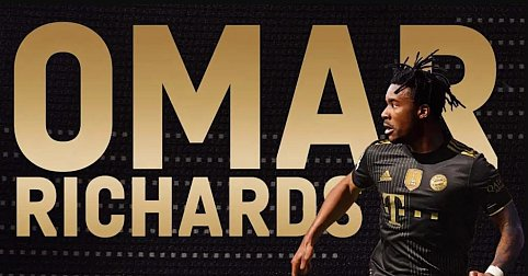 Contract until 2025: Bayern signed left-back Richards on a free transfer