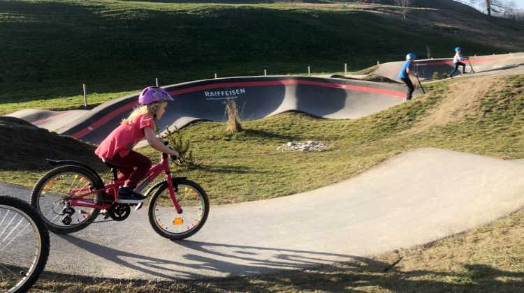 Will there be space for a pump track in the next Belp construction phase?