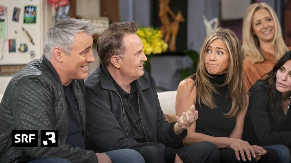"Friends: Reuniting - $ 1 billion made with the series ""Friends"" - SRF Radio 3"