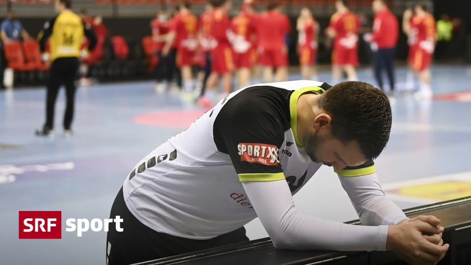 28:29 vs Macedonia - narrow defeat: Swiss handball players to miss European Championship Finals - sport