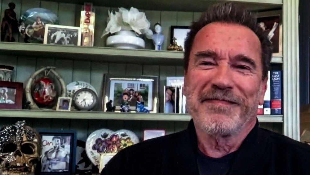 Arnold Schwarzenegger is feeling old because of his granddaughter