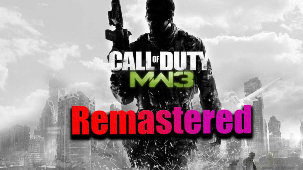 Call of Duty Modern Warfare 3 Remastered - New version leaks in 2021