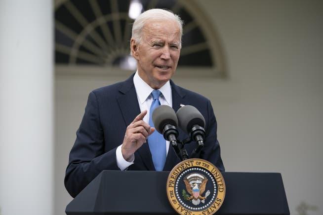 Put Switzerland on Equal Foot with Bermuda: US President Joe Biden
