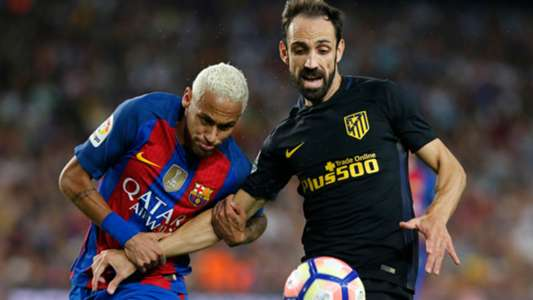 Former Atletico defender Juanfran against Neymar: 'unbearable on the pitch'