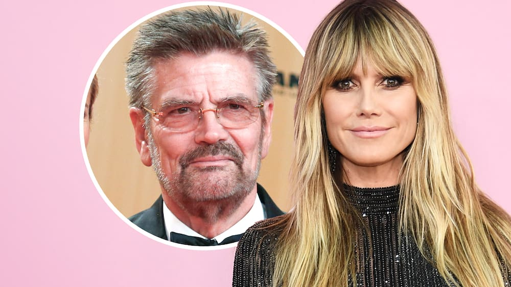 Heidi Klum has trouble with her father Gunter and a former seal