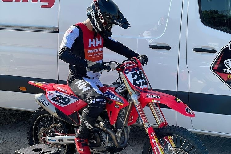 Henry Jacoby: Strong fourth place in Honda's debut / MXGP World Championship