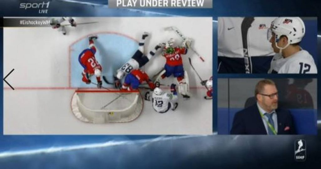 Ice Hockey World Cup 2021: Video Assistant Referee in Norway against USA