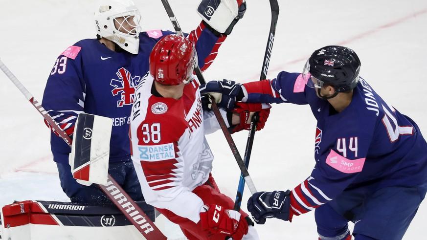Ice Hockey World Cup: Denmark beat Great Britain, USA beats Kazakhstan