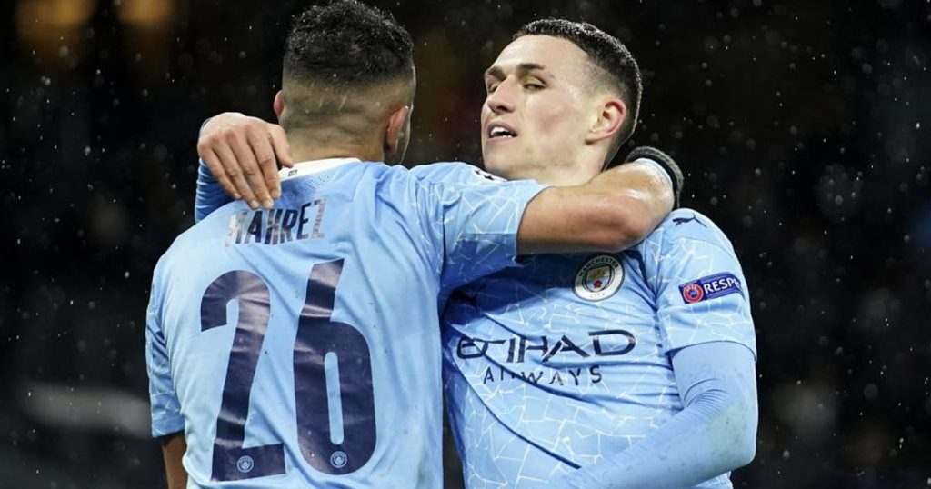 Mahrez leads Manchester City with a double in the Champions League final