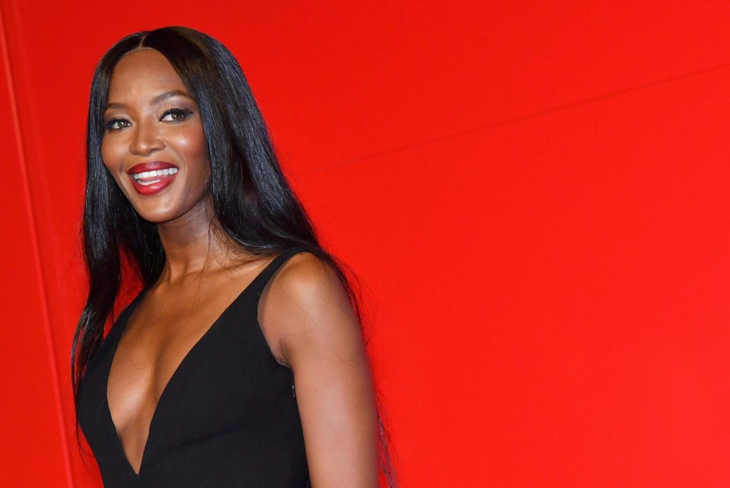Model Naomi Campbell becomes a mother for the first time at the age of 50