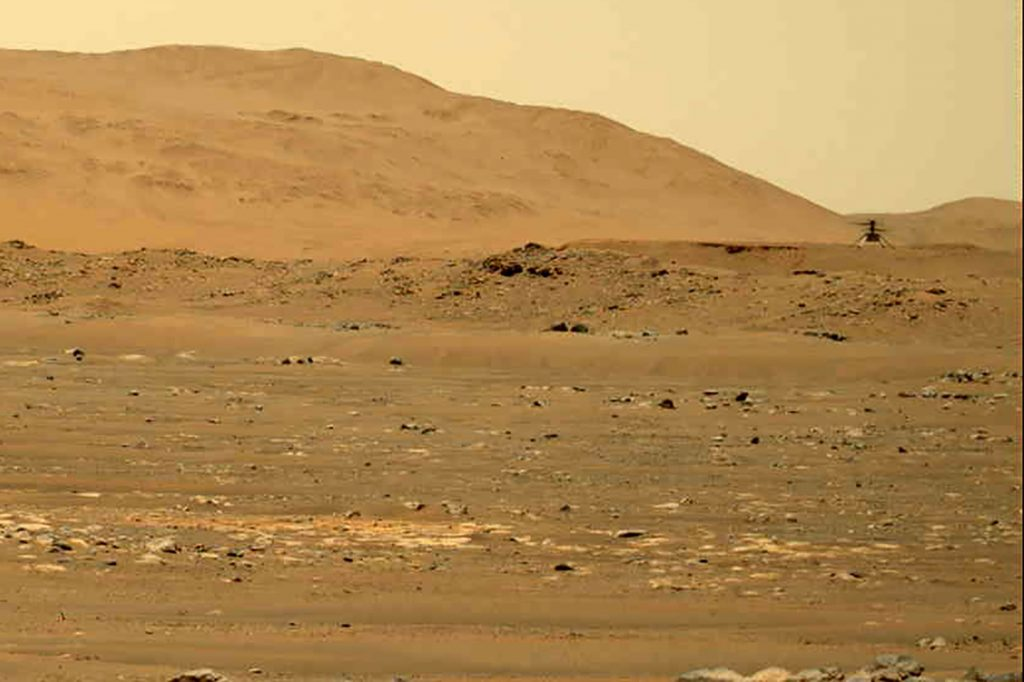 NASA publishes an audio recording of the Mars flight for the first time