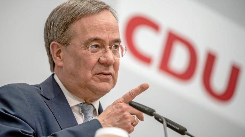 NRW-CDU: Federal Election List - Laschet in 1st place