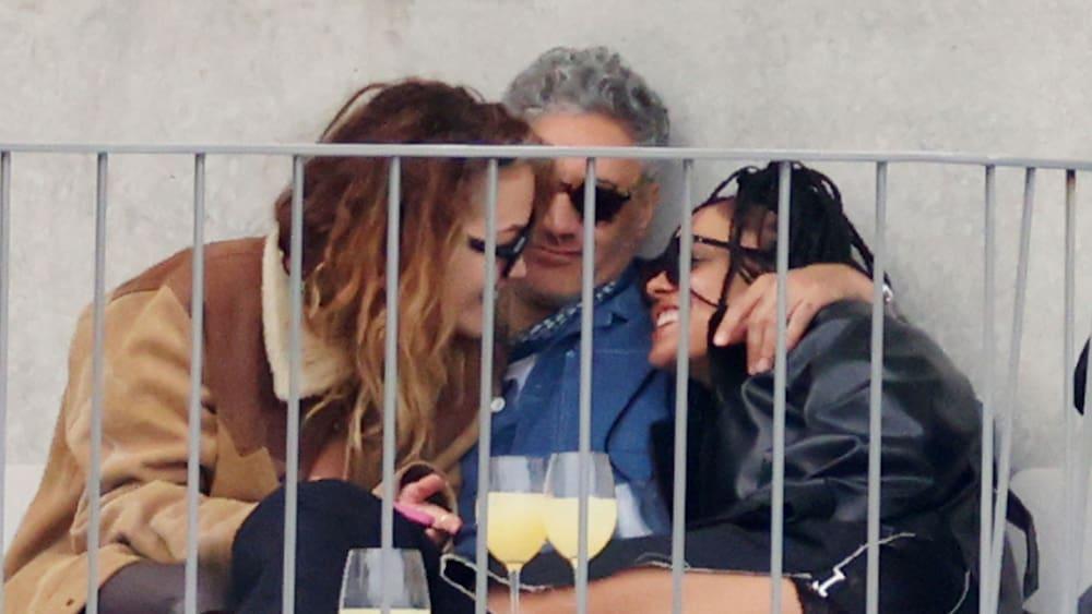 Rita Ora meets Taika Waititi and Tessa Thompson in Sydney